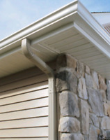 Need new eaves trough? Is water dripping behind them?