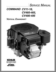 Kohler Command 15 or 16 HP SINGLE ENGINE