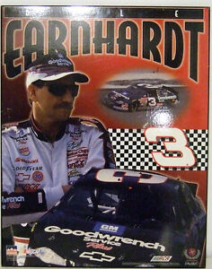 "DALE EARNHARDT 16"" X 20"" PLAQUE"