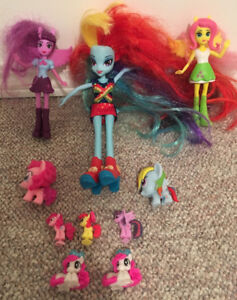 My Little Pony Equestria Girls Rainbow Dash Barbie Doll & Assort