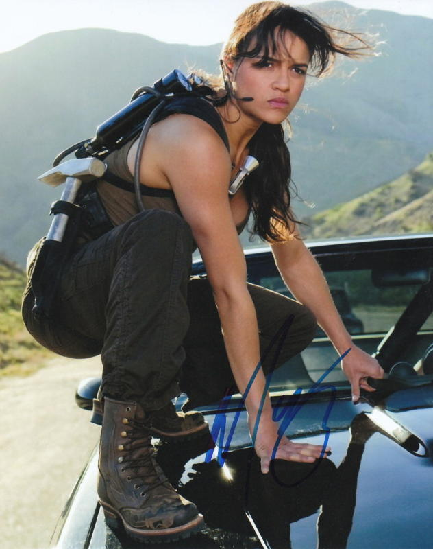 MICHELLE RODRIGUEZ.. Fast And Furious - SIGNED