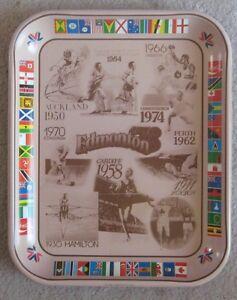 Coca Cola Metal Tray from Edmonton 1978 Commonwealth Games