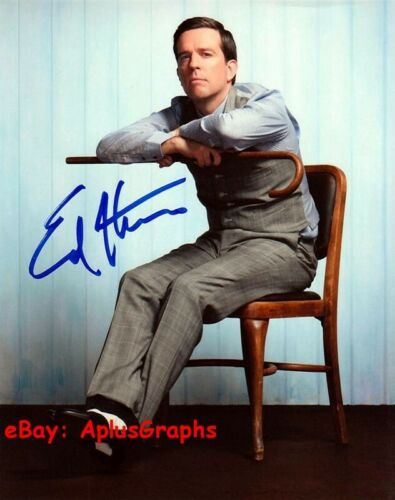 ED HELMS.. Comical Charmer (The Office) SIGNED