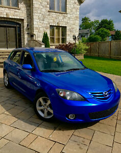 2004 Mazda 3 Sport 2.3L GT - LOW KMS With AC