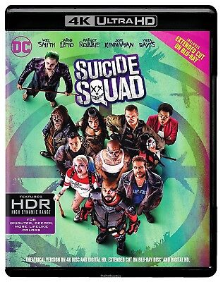 Suicide Squad  4K Ultra Hd Blu Ray Blu Ray  New