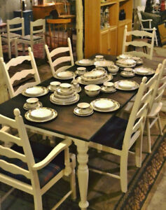 Eight Place China Setting Plus More