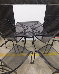 Patio Set - Table with 4 chairs