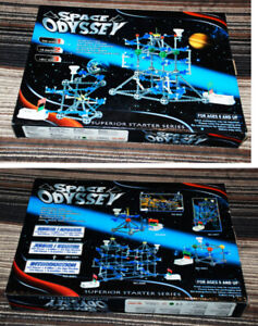 SPACE ODYSSEY Construction building toy set, New.