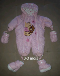 One piece 0-3 mois Winnie l'ourson