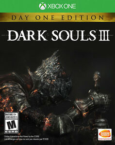 DARK SOULS 3 XBOX ONE NEUF DAY ONE EDITION AVEC BONUS