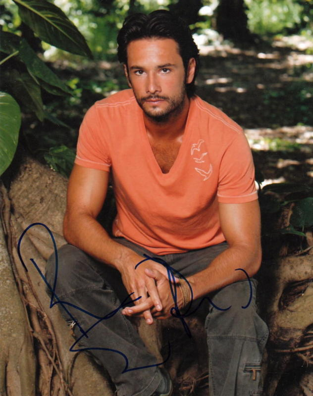 RODRIGO SANTORO.. Handsome Hunk (Lost) SIGNED
