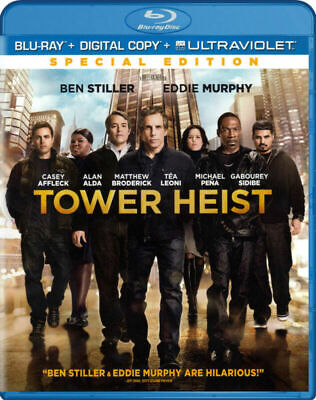 Tower Heist (Blu-ray Disc, 2013) - Disc Only