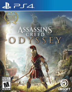 Assassin's Creed Odyssey PS4 new- neuf