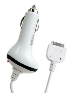 Brand New Car Charger for iPod, iPod Touch 3/4 and iPhone 4S/4