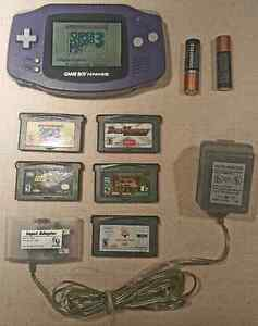 GAMEBOY ADVANCE PACKAGE  / ENSEMBLE GAMEBOY ADVANCE