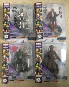 Disney Marvel Select GUARDIANS OF THE GALAXY Action Figures BNIB