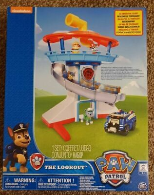 New PAW Patrol - The Lookout Tower Playset - Nickelodeon