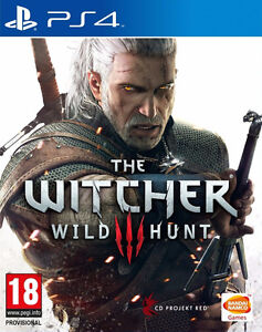 The Witcher 3 - PS4 - Comme neuf + Season pass