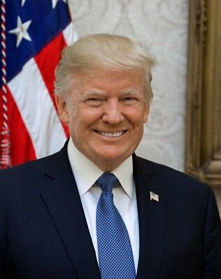 President Donald Trump Official 8X10 Photograph   High Quality   Free Shipping