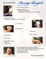 Massage chez vous