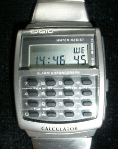 CASIO - CALCULATOR WATCH - - only .... $65.00