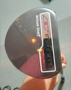 GOLF- BRAND NEW WILSON STAFF INFINITE 'THE BEAN' PUTTER RH