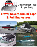 boat tops travel covers boat upholstery boat lettering etc.