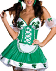 SOLD!! Irish u Lucky costume