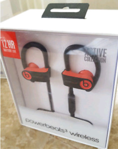 Power Beats 3 (Siren Red) Brand New.