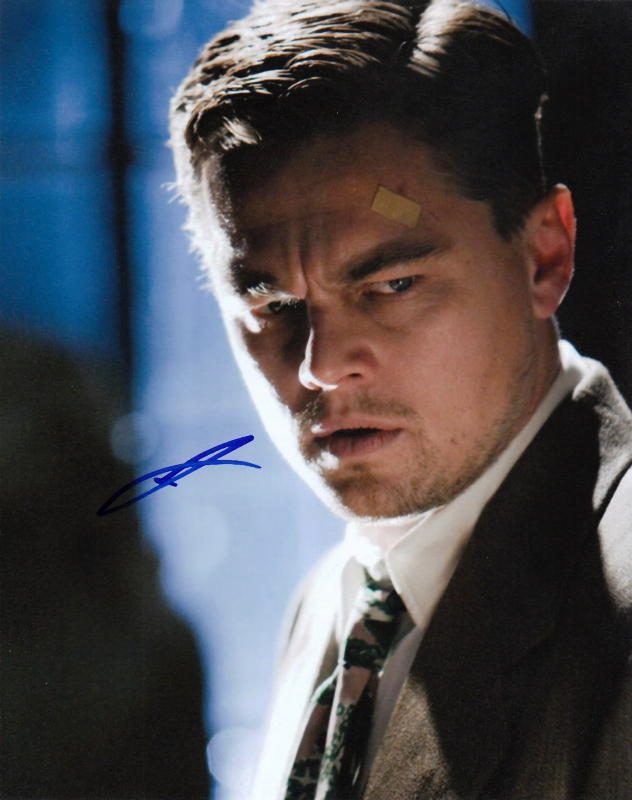 LEONARDO DiCAPRIO.. The Departed - SIGNED
