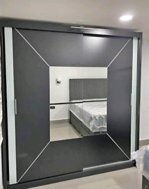 💥💯BARGAIN FURNITURE HERE! 2 AND 3 MIRRORED DOORS SLIDING WARDROBES W
