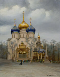 Russian painting from Kashirsky: Zagorsk