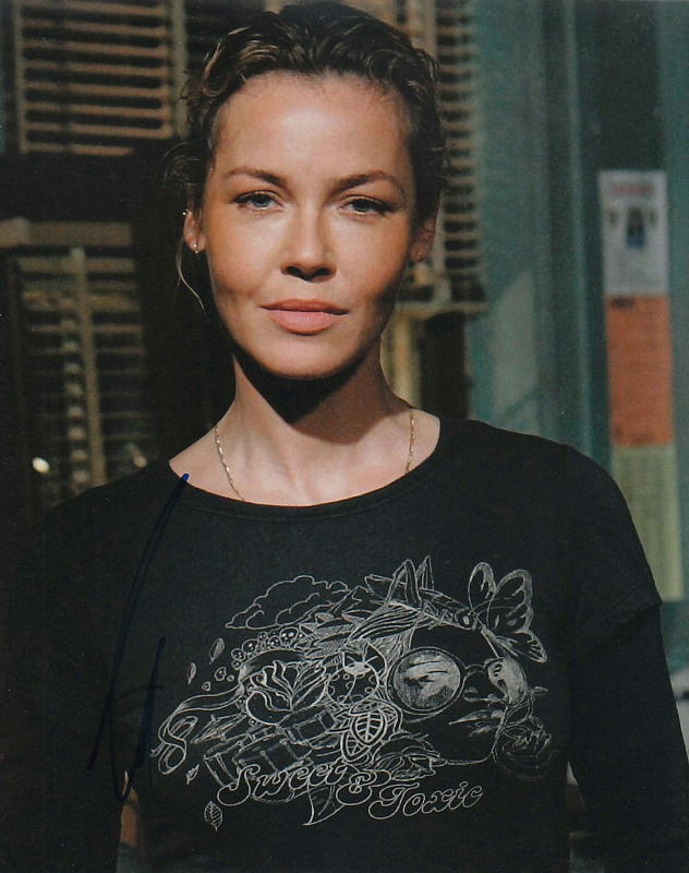 CONNIE NIELSEN.. Law & Order: Special Victims Unit (SVU) SIGNED