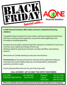 BLACK FRIDAY- PERSONAL LOAN SPECIALS Downtown-West End Greater Vancouver Area image 1
