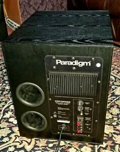 Paradigm high-def Subwoofer 450 Watts 12 inch - like New