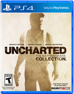 Selling Uncharted the nathan drake collection on ps4 for $20
