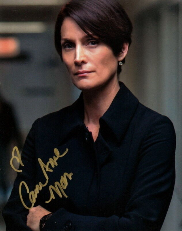 CARRIE-ANNE MOSS.. Jessica Jones' Jen Hogarth - SIGNED