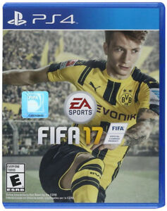 FIFA 17 - PlayStation 4 - Standard Editions (Sealed Never Used)
