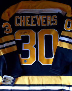 AUTOGRAPHED GERRY CHEEVERS JERSEY