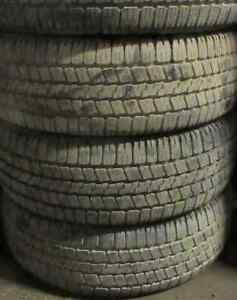 265/65/17 Passenger tires at 90-95% tread 4 TIRES