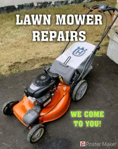 Mobile Lawnmower Repair • HOUSE CALLS • Lawn Mower Mover