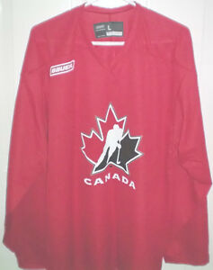 Bauer Team Canada Size Large Practice Jersey London Ontario image 1