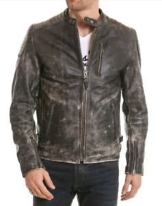 SCHOTT LC3400 COWLEATHER LARGE MENS JACKET PAID $950 $600ONLY