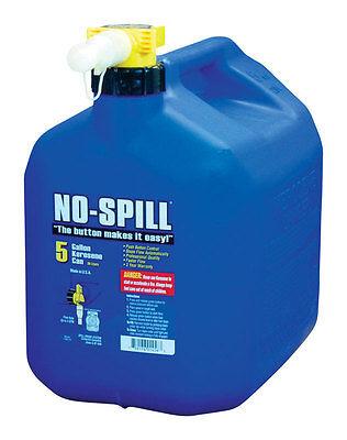 No Spill Plastic Kerosene Can 5 Gal.