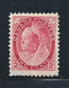 Timbres Canada No. 77 NEUF SANS CHARNIÈRE Small Scratch LL