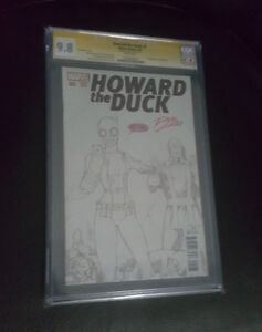 Howard the duck #1 Cgc 9.8