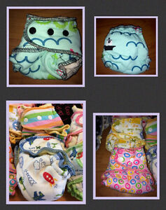 Huge LOT of HIGH END & LIMITED EDITION Cloth Diapers Peterborough Peterborough Area image 3