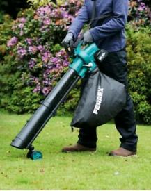 Ferrex Electric Garden Blower Vacuum New Boxed ex demo