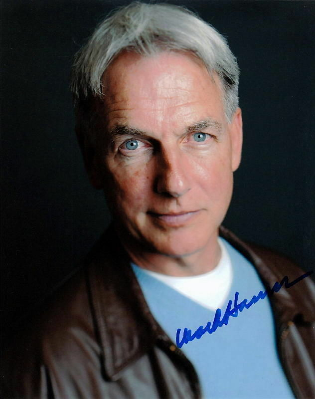 MARK HARMON.. NCIS's Blue Eyed Charmer - SIGNED