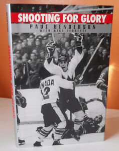 Paul Henderson signed book